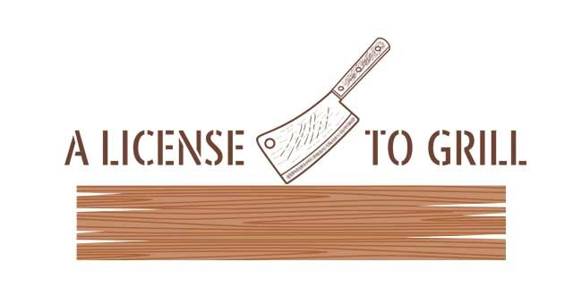 A License To Grill logo